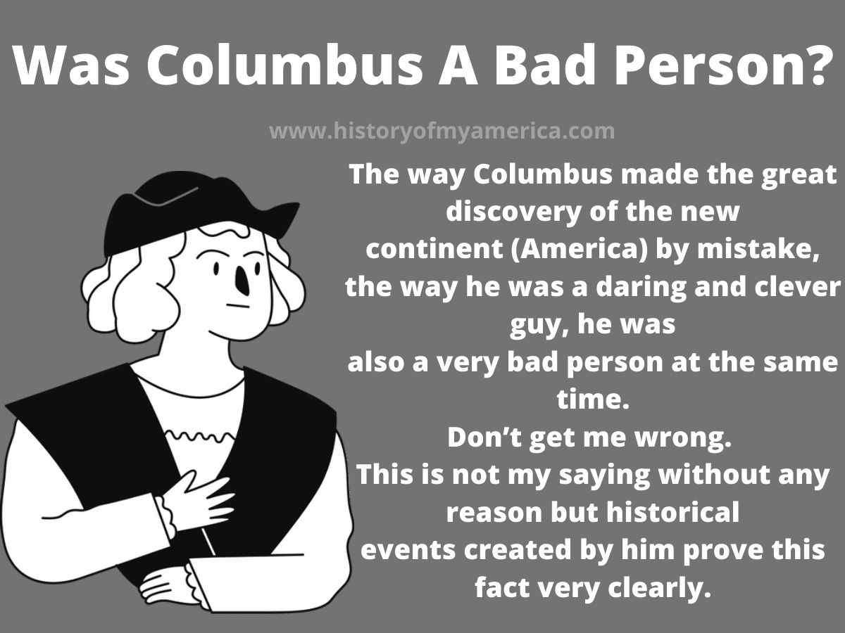Was Columbus A Bad Person, christopher columbus character