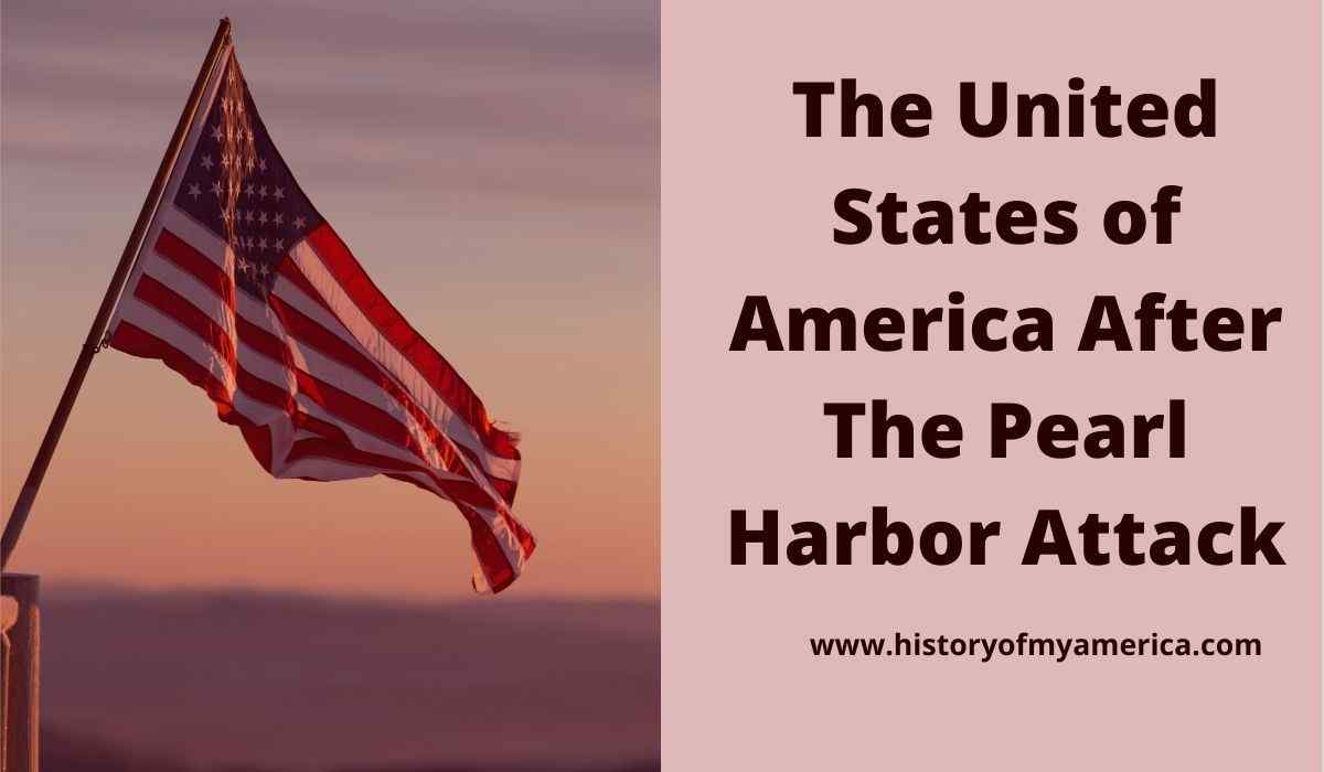 united states of america after pearl harbor attack