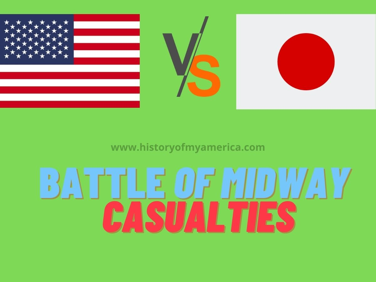 Battle of Midway Casualties