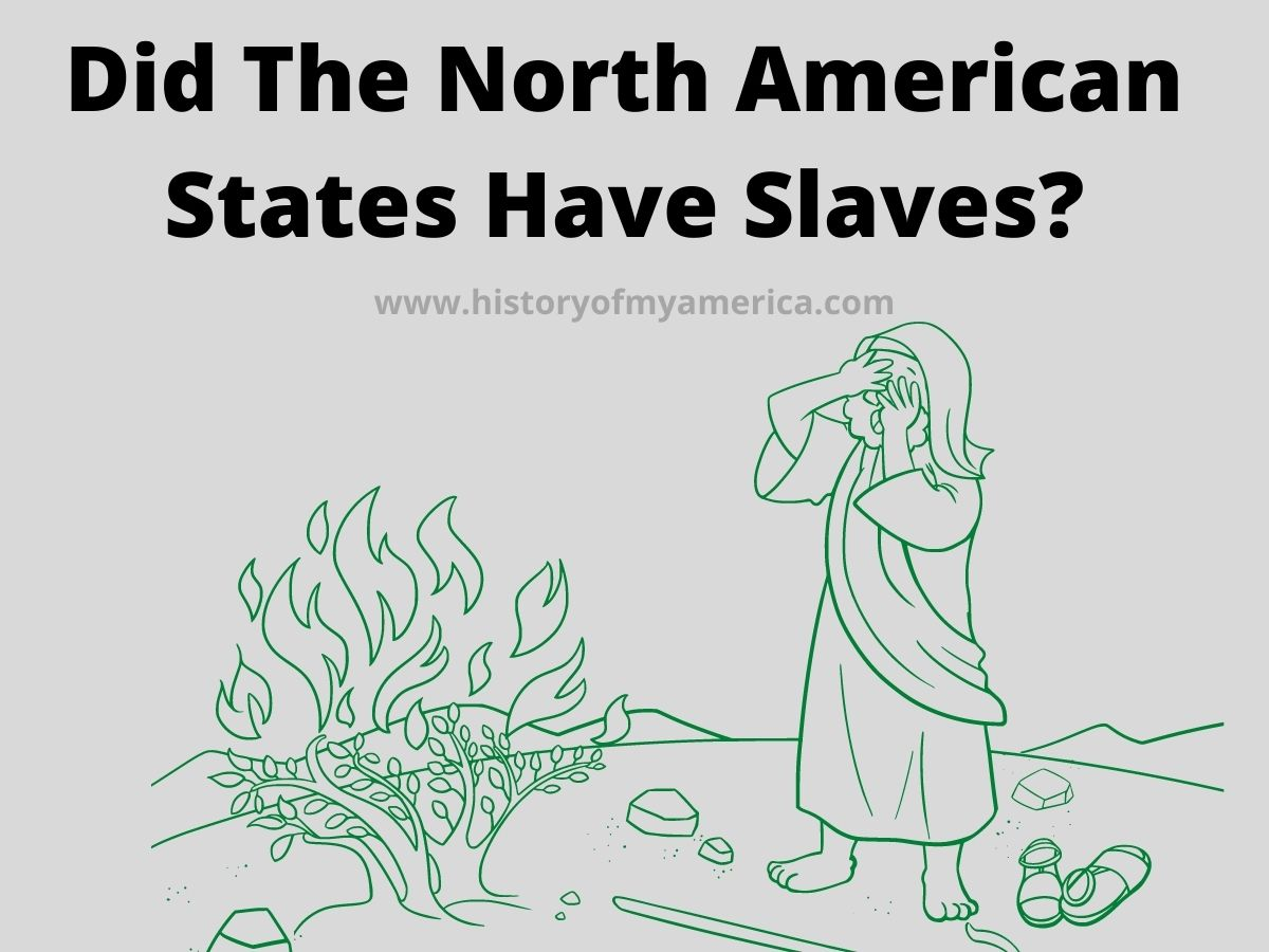 Did The North American States Have Slaves, civil war