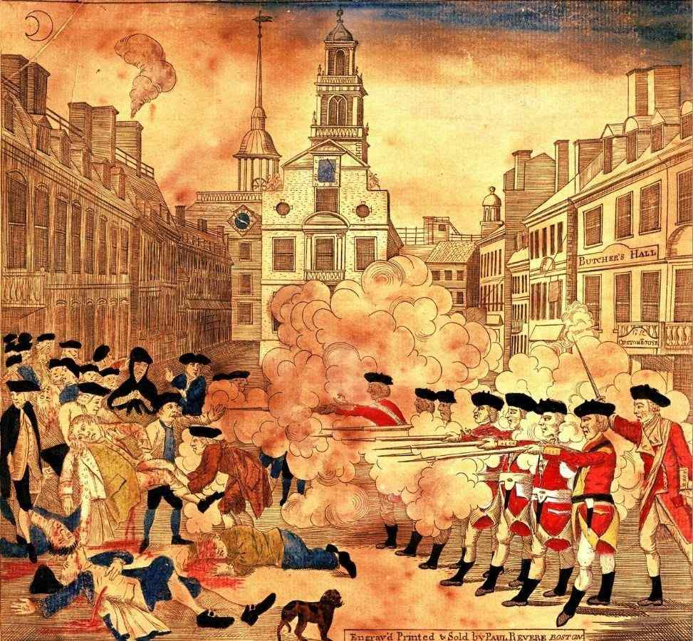 Paul Revere Role After Boston Massacre