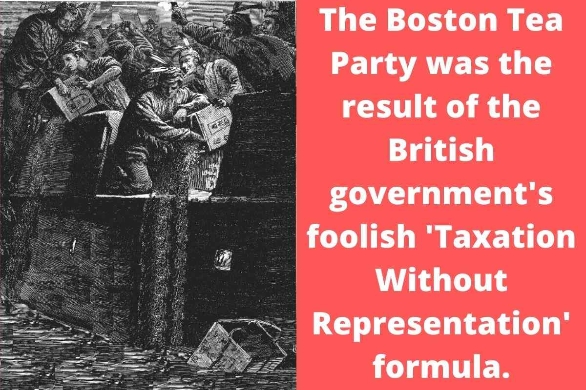 What Caused The Boston Tea Party