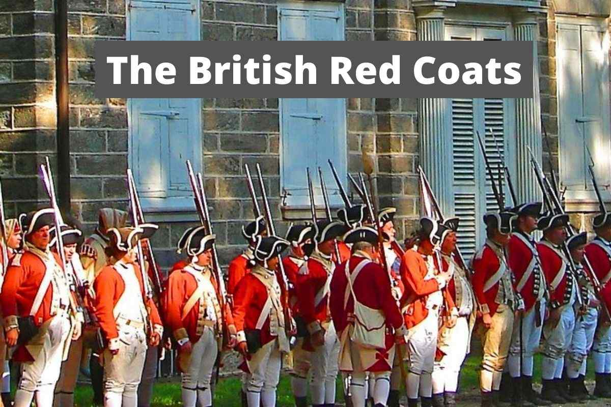 british soldiers, american revolution, red coats