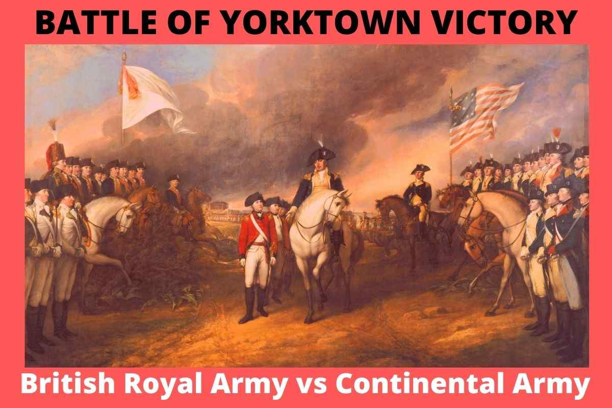 What Enabled George Washington's Victory Over Lord Cornwallis At Yorktown