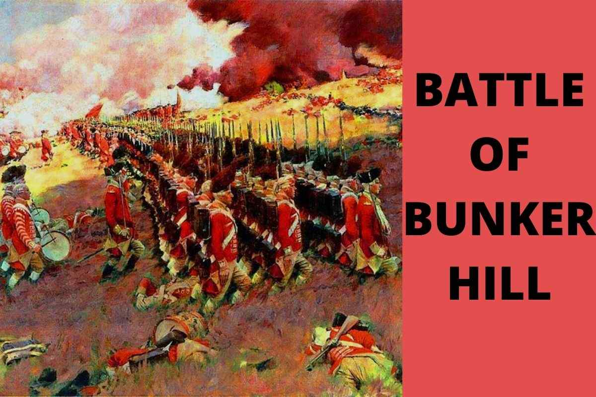 What Happened At The Battle of Bunker Hill
