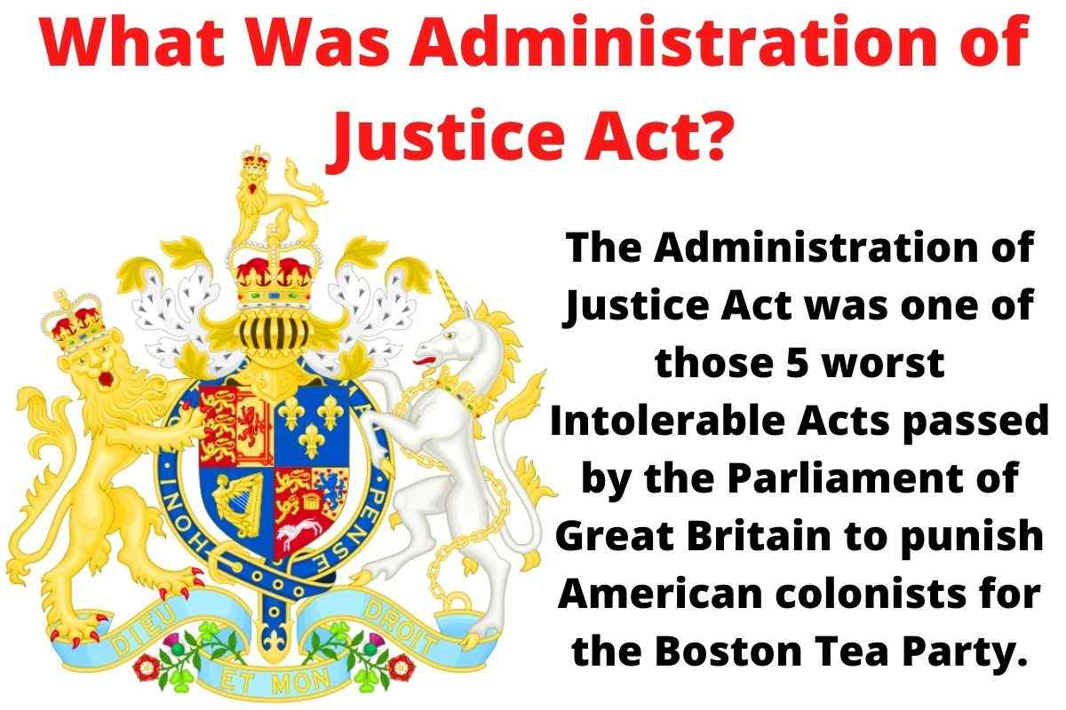What Was Administration of Justice Act