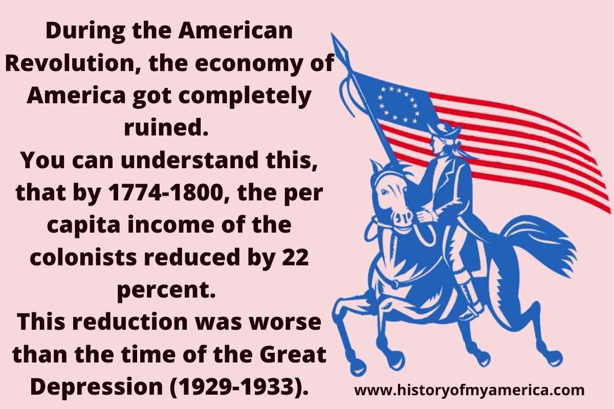 During The American Revolution, What Happened To The Economy