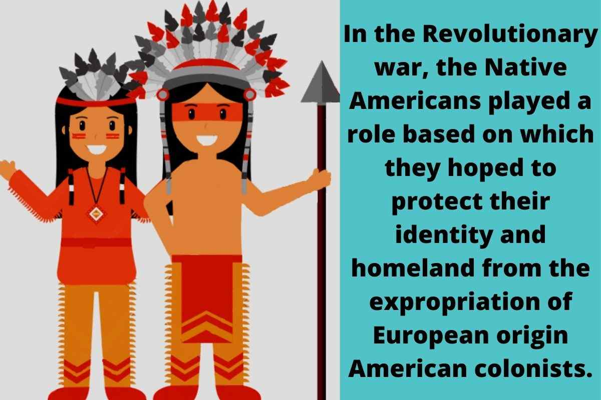 What Role Did Native Americans Play In The Revolutionary War