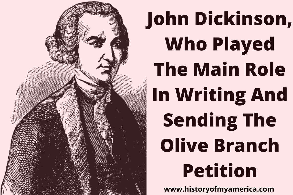 american revolution, john dickinson, olive branch petition