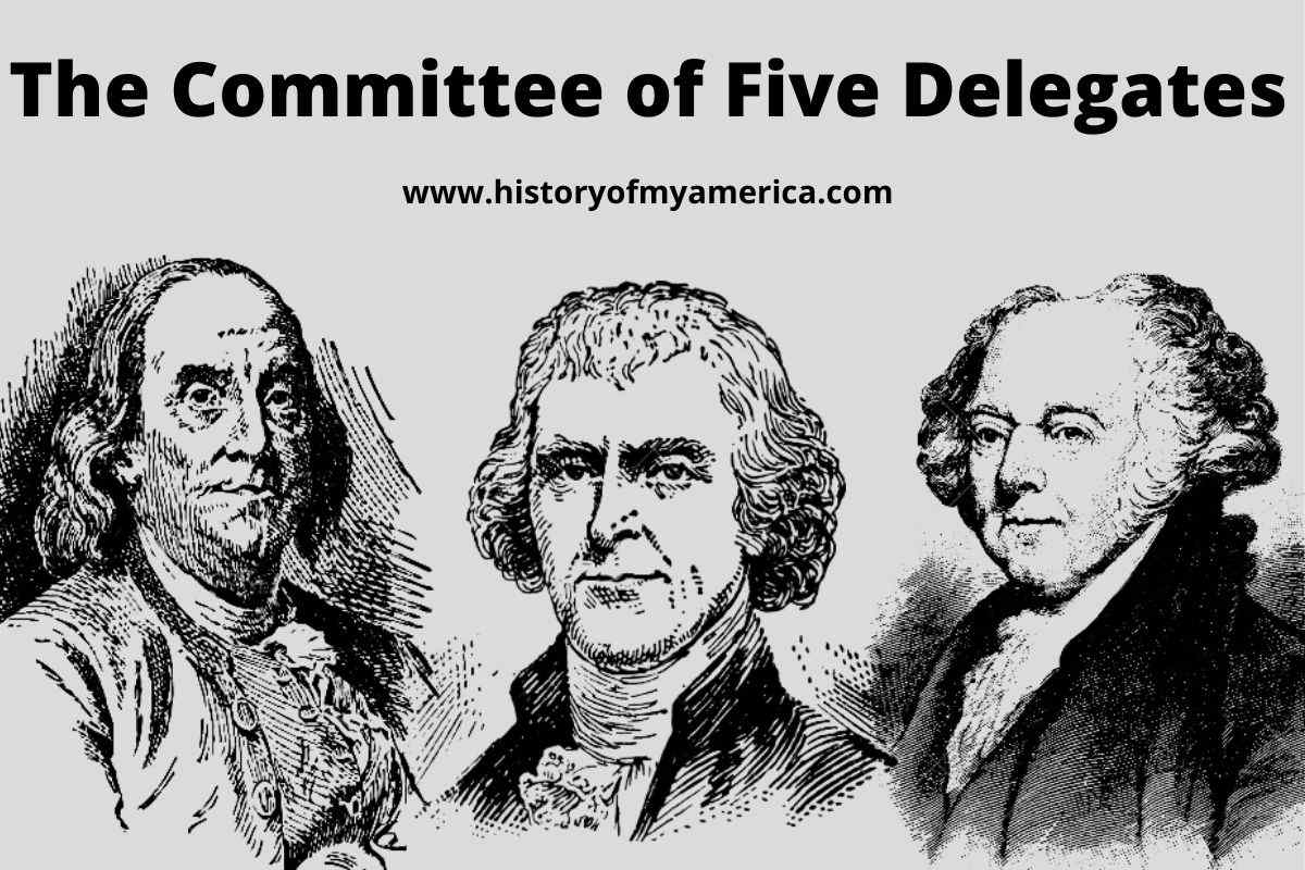 Committee of Five, american revolution,