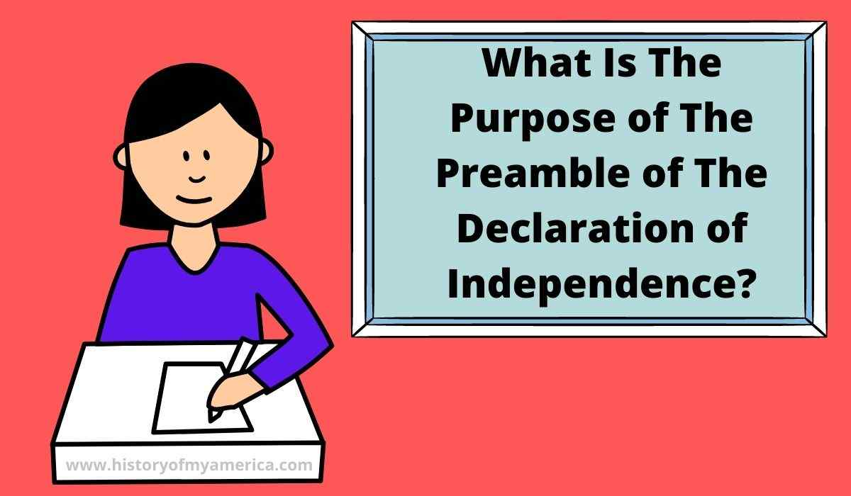 What Does The Preamble of The Declaration of Independence Mean