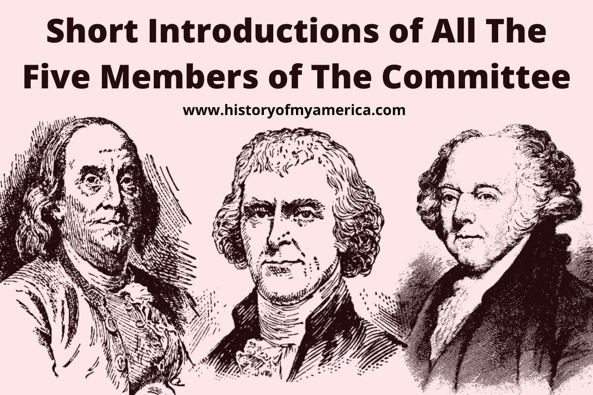 Who Was Appointed To Write The Declaration of Independence