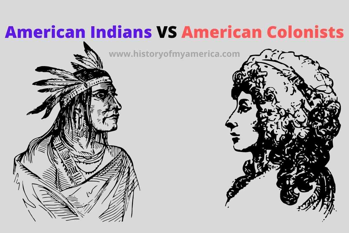 american indians, natives, colonists, people of the 13 colonies