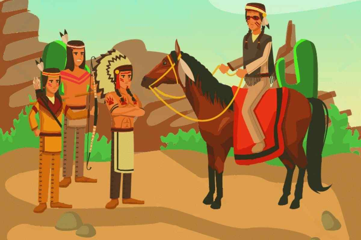 Native People, red indians, history of america